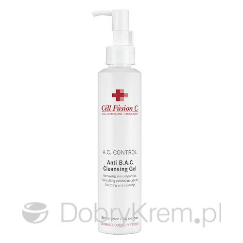 Cell Fusion Anti B.A.C Gel sk.tłusta 180 ml
