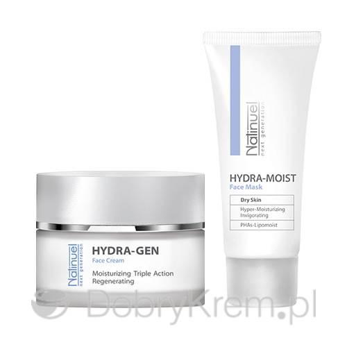 NATINUEL Zestaw Hydra Moist Mask + Hydra-Gen
