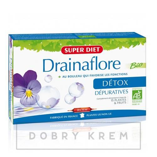 SUPER DIET Drainaflore Detox suplement 20 x 15 ml