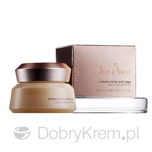Jean D'Arcel Multibalance Creme Riche Anti-Age 50 ml