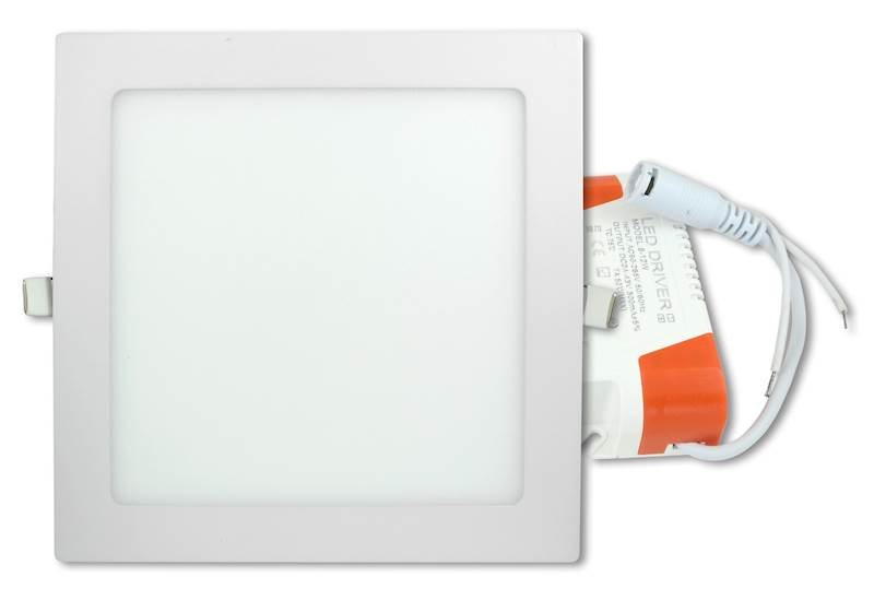 Panel LED kwadrat 18W 2700K WW 230V