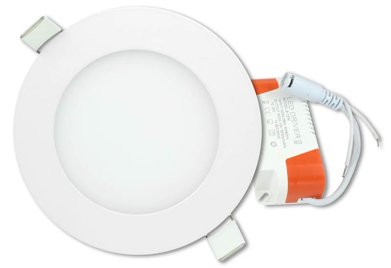 Panel LED okrągły 6W 230V 6500K CW
