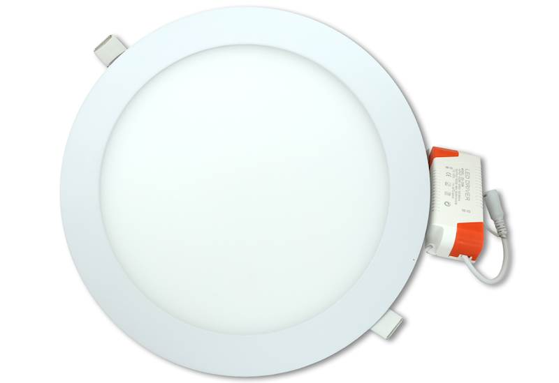 Panel LED okrągły 18W 6500K CW 230V