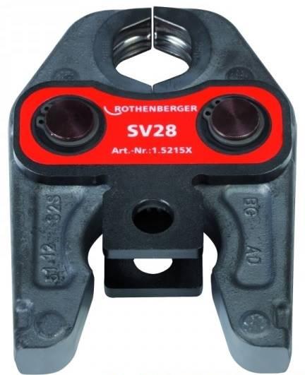 Szczęki zaciskowe do rur SV (V) 15 mm