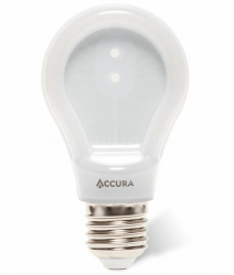 Żarówka LED ACCURA E27 7W ciepła super slim