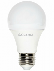 Żarówka LED ACCURA E27 7W ciepła bańka