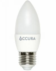 Żarówka LED ACCURA E27 7W ciepła świeczka