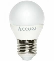 Żarówka LED ACCURA E27 7W ciepła kulka