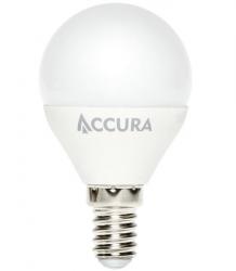 Żarówka LED ACCURA E14 7W ciepła kulka