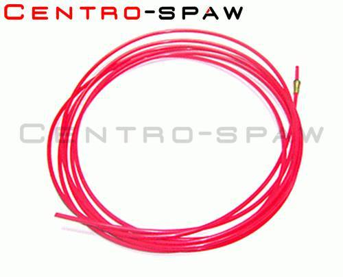 Wkład teflonowy czerwony (1,0-1,2mm) 3m