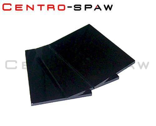 Szybka ciemna 80x100 mm 14 DIN