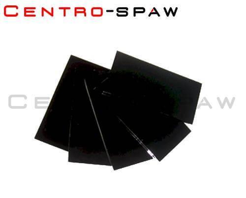 Szybka ciemna 50x100 mm 9 DIN