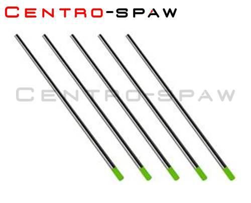 Elektroda wolframowa 2,4mm x 175 WP - zielona