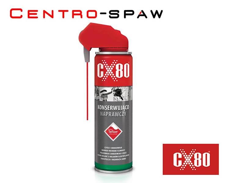 CX80 - Płyn konserwująco naprawczy z teflonem 250 - PREPARAT KONSERWUJĄCO-NAPRAWCZY TEFLON