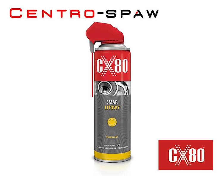 CX80 - Smar litowy 500ml Spray  UNIWERSALNY