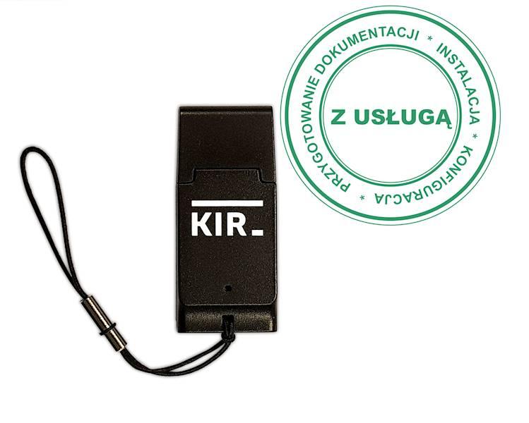 Podpis Elektroniczny KIR Szafir • 2 lata • Czytnik MINI • Mała karta SIM (do czytnika mini) • Tak