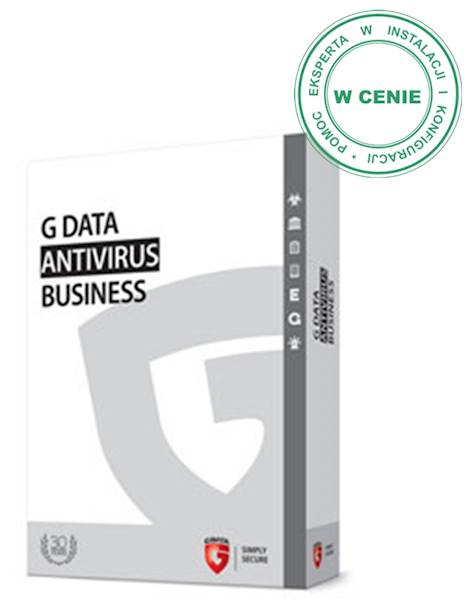 G DATA AntiVirus Business • 10 stanowisk • 3 lata
