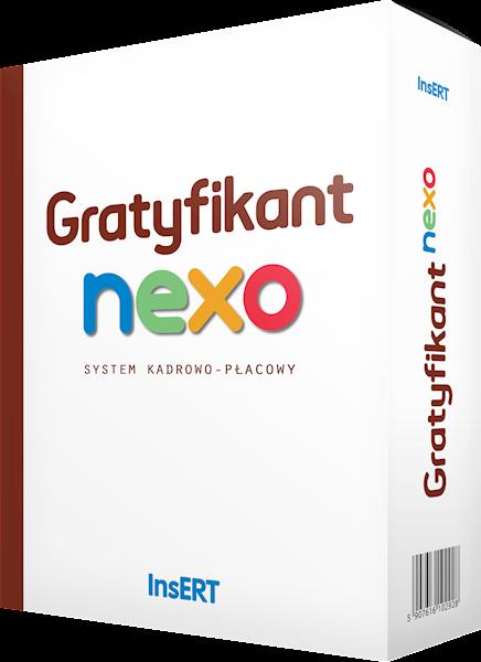 Gratyfikant nexo - system kadrowo - płacowy