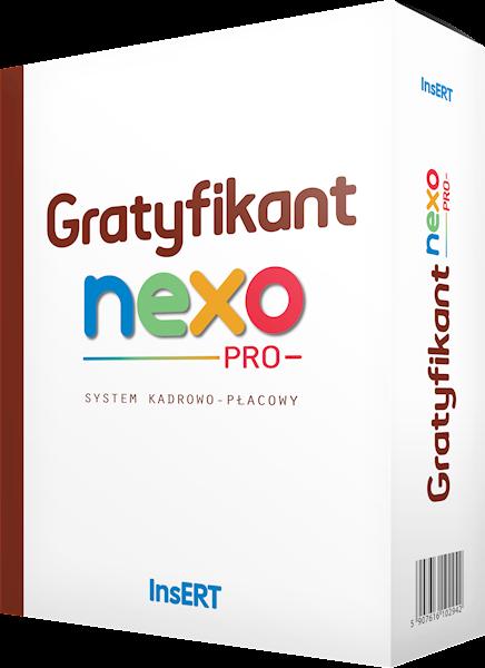 Gratyfikant nexo PRO: system kadrowo - płacowy