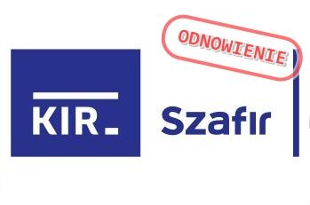 Odnowienie Podpisu Elektronicznego KIR Szafir