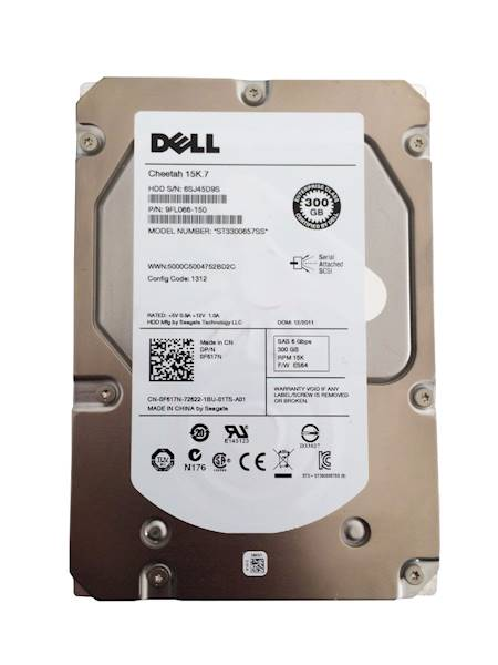 Dell 300GB 6G 15K 3.5 SAS
