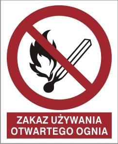 [210-03] - Zakaz używania otwartego ognia