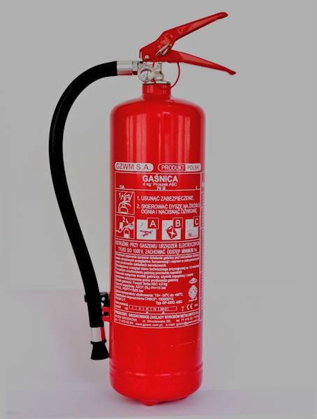 Gaśnica proszkowa 4kg GP-4x/Q ABC GZWM