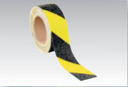 Taśma antypoślizg. samoprzylepna żółto-czarna 18mb