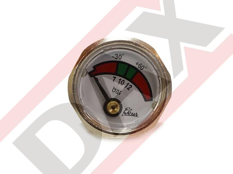 Manometr do gaśnicy GP-1/2x PM (10 bar)