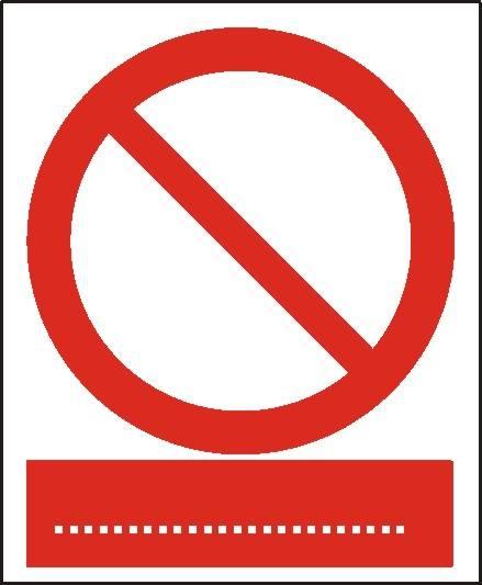 [601] - Ogólny znak zakazu