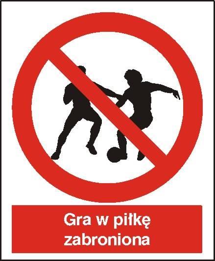 [600] - Zakaz gry w piłkę