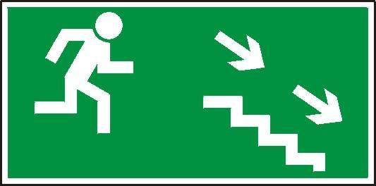 [106] - Kierunek do wyjścia drogi ewakuacyjnej sch