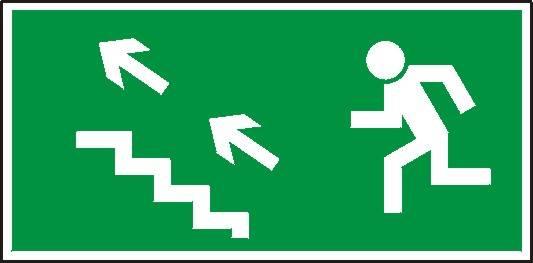[107] - Kierunek do wyjścia drogi ewakuacyjnej sch