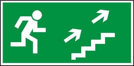 [108] - Kierunek do wyjścia drogi ewakuacyjnej sch