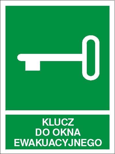[117-02] - Klucz do okna ewakuacyjnego