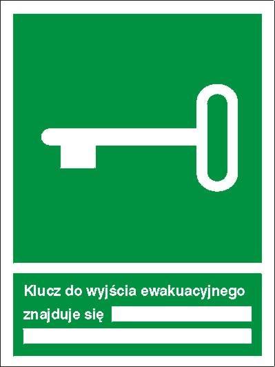 [117] - Klucz do wyjścia ewakuacyjnego