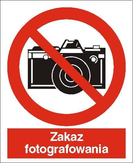 [609] - Zakaz fotografowania