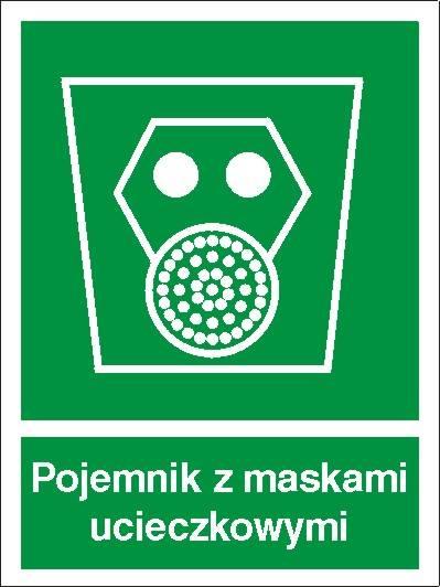 [119] - Pojemnik z maskami ucieczkowymi