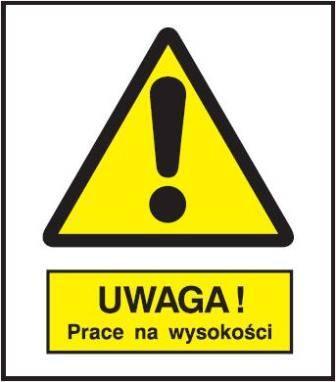 [301-16] - Uwaga! Praca na wysokości