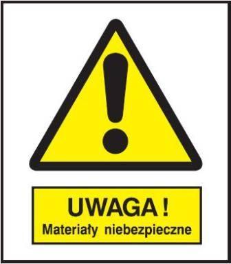 [301-15] - Ostrzeżenie przed niebezp. materiałami
