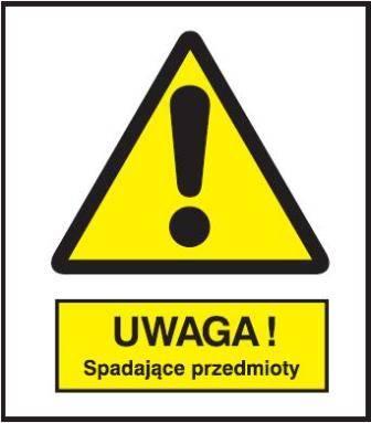 [301-12] - Uwaga! Spadające przedmioty