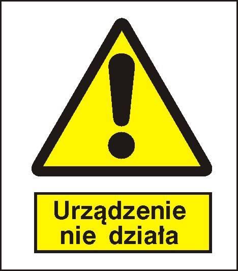 [301-11] -Ostrzeżenie przed niedziałającym urządz.