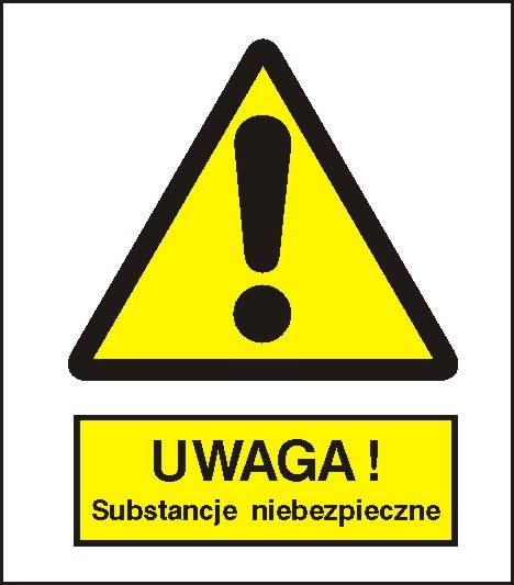 [301-10] - Ostrzeżenie przed sub.i niebezpiecznymi