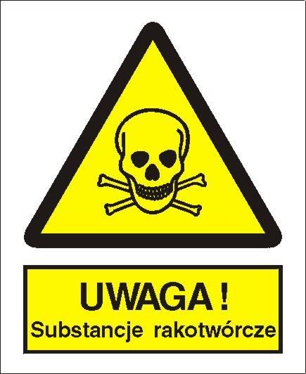 [302-01] - Ostrzeżenie przed sub. rakotwórczymi