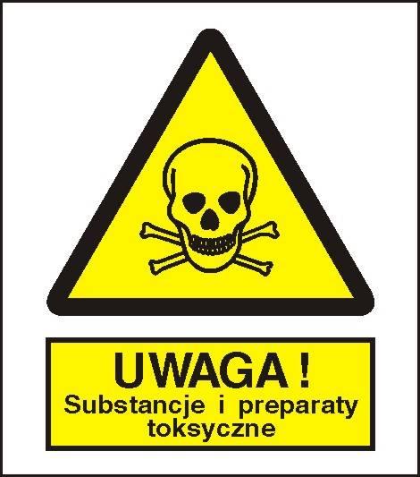 [302-03] -Ostrzeżenie przed sub.i prepar. toksycz.