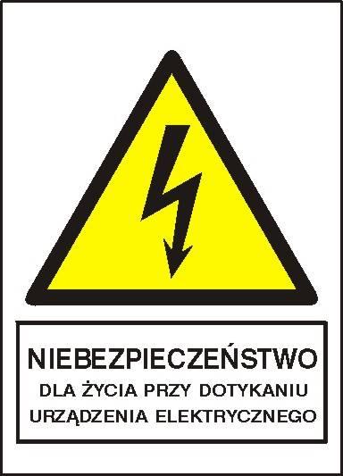 [330-04] - Niebezpiecz. przy dotknięciu urządzenia