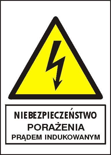 [330-11] - Niebezp. porażenia prądem indukowanym