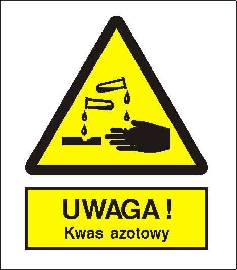 [303-03] - Ostrzeżenie przed kwasem azotowym