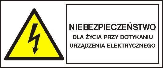 [330-04b]-Niebezpiecz. przy dotknięciu urządzenia