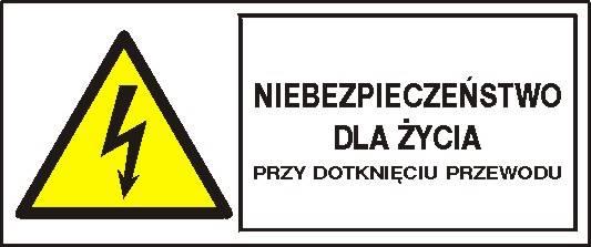 [330-06b] - Niebezpiecz. przy dotknięciu